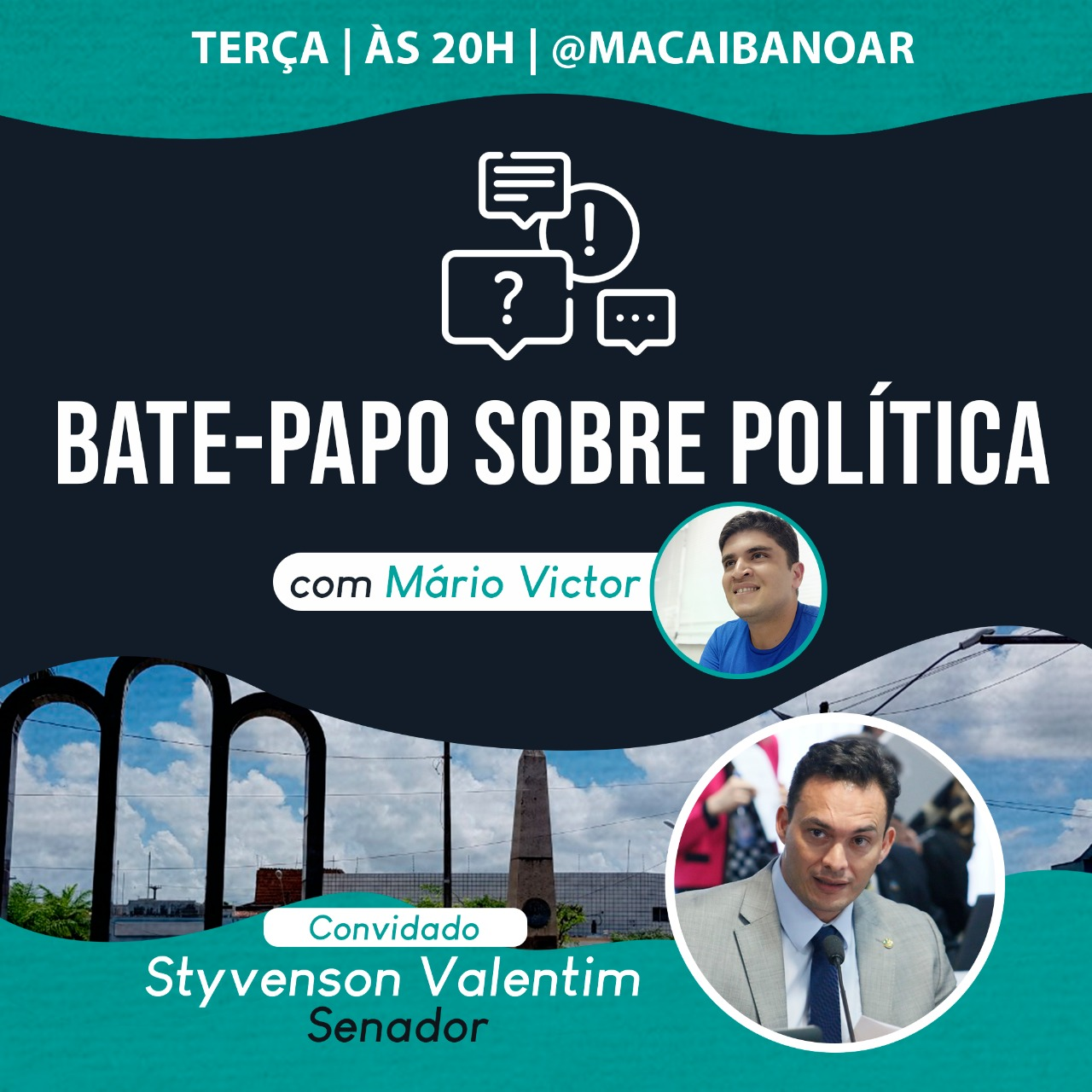 Senador Styvenson vai participar de live do Blog Macaíba no Ar ...
