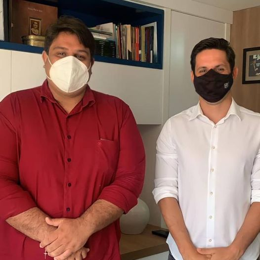 Vice-prefeito Netinho França trata com deputado Rafael Motta sobre emendas  para Macaíba - Macaíba no ArMacaíba no Ar